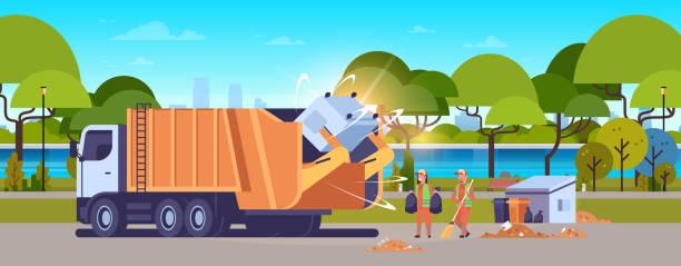 illustration - propreteurbaine -camionpoubelle